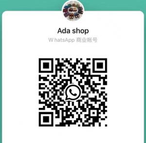 Add Whatsapp:86 18059955283